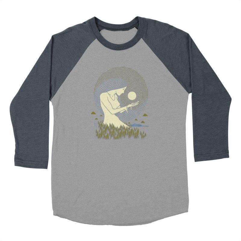 Moonlight Women's Baseball Triblend Longsleeve T-Shirt by Adam White's Shop