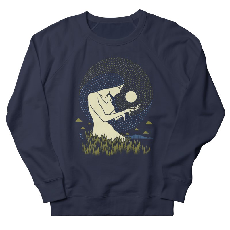 Moonlight Men's French Terry Sweatshirt by Adam White's Shop