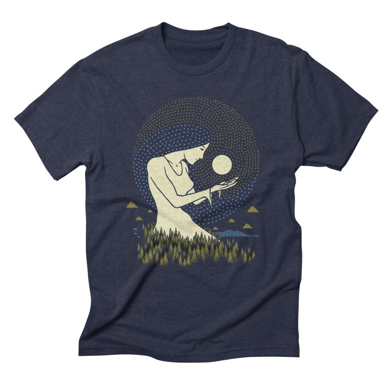 Moonlight Men's T-Shirt by Adam White's Shop