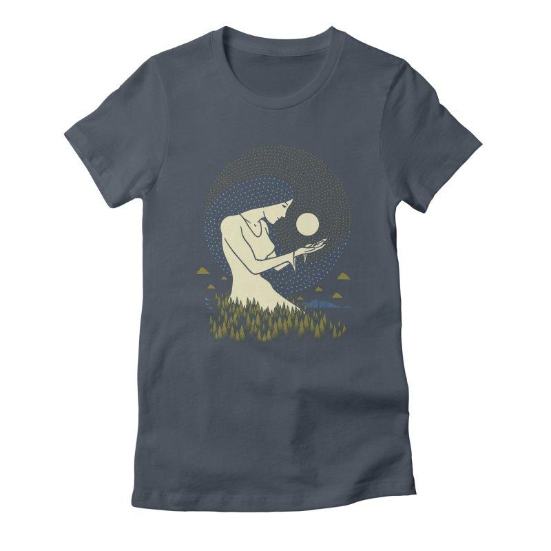 Moonlight Women's T-Shirt by Adam White's Shop