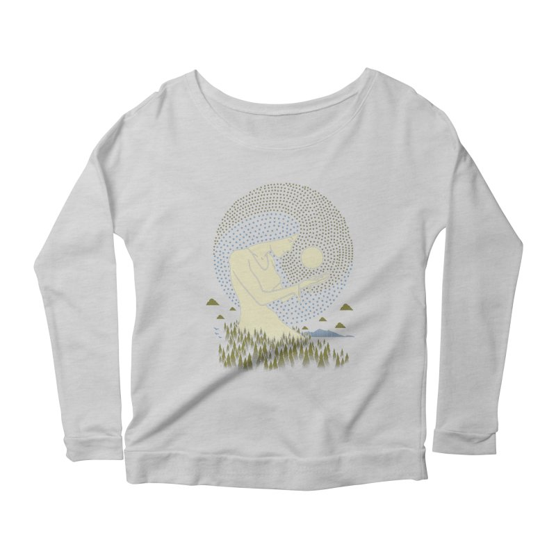 Moonlight Women's Longsleeve T-Shirt by Adam White's Shop