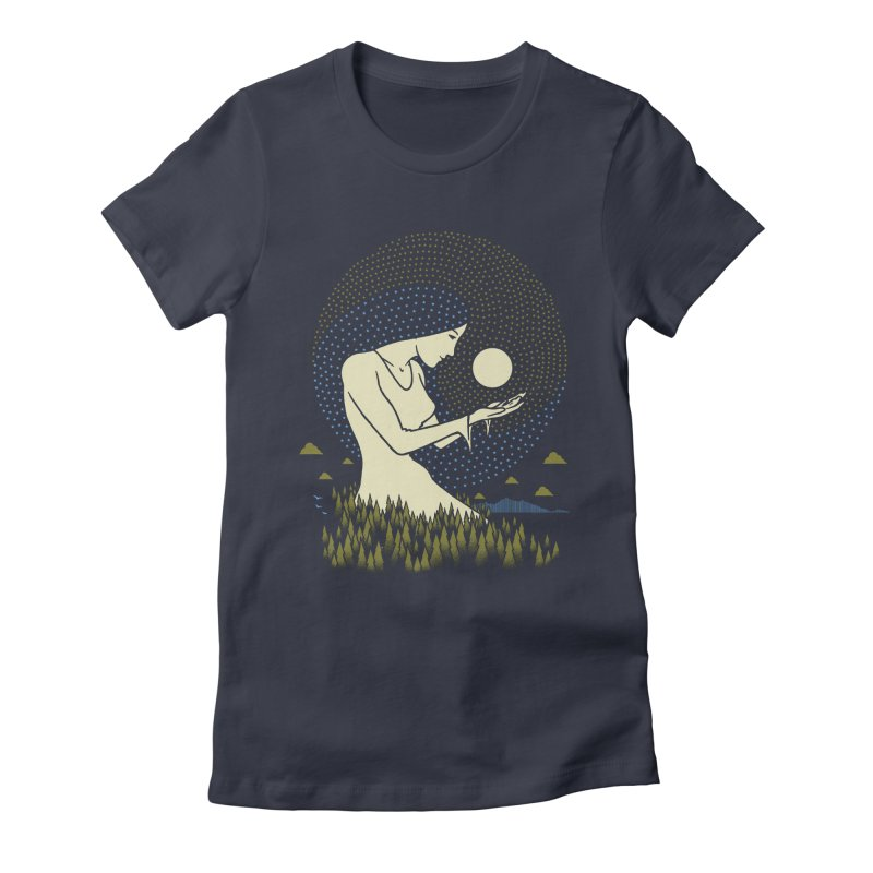 Moonlight Women's T-Shirt by Adam White's Shop