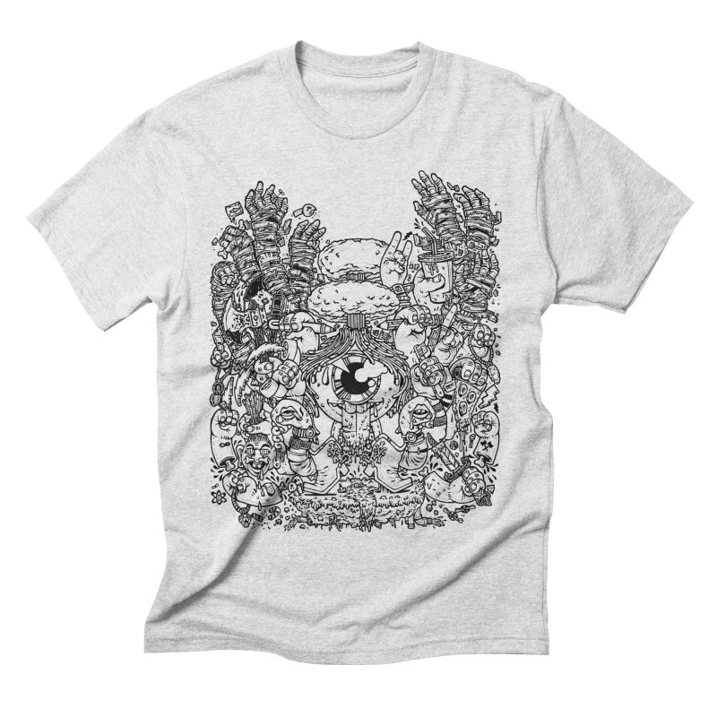 WAKING UP IS HARD TO DO Men's Triblend T-shirt by Adam White's Shop