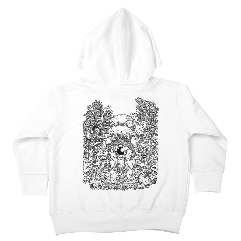 WAKING UP IS HARD TO DO Kids Toddler Zip-Up Hoody by Adam White's Shop