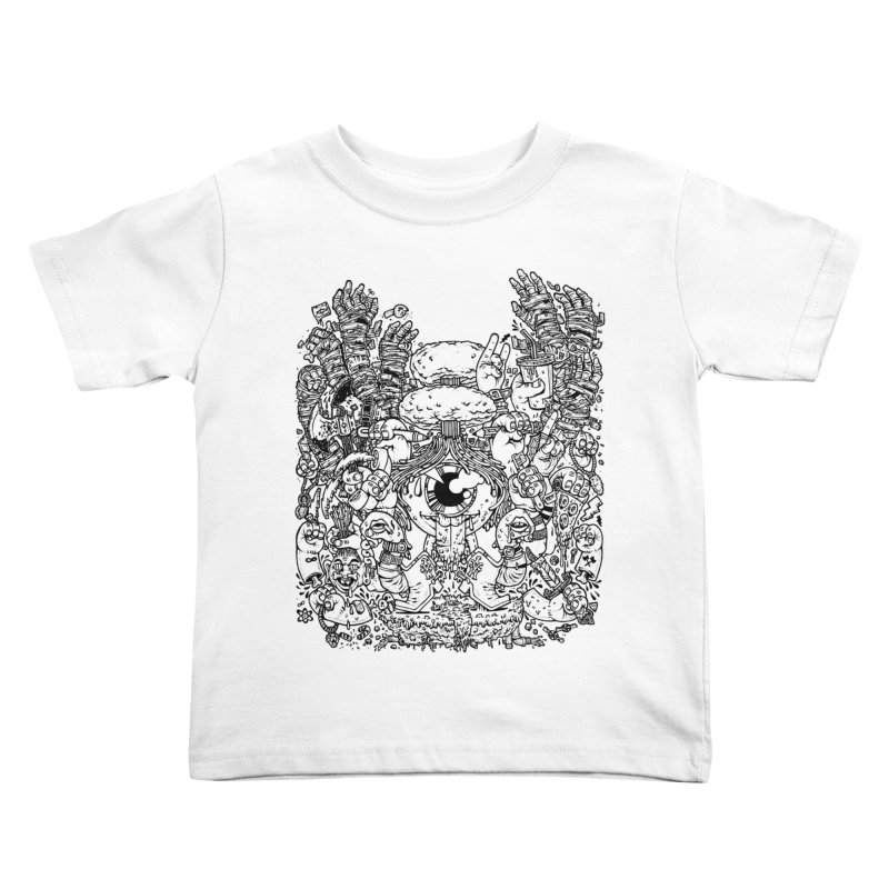 WAKING UP IS HARD TO DO Kids Toddler T-Shirt by Adam White's Shop
