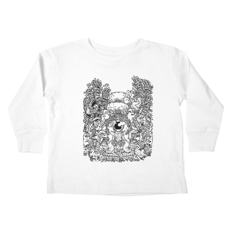 WAKING UP IS HARD TO DO Kids Toddler Longsleeve T-Shirt by Adam White's Shop