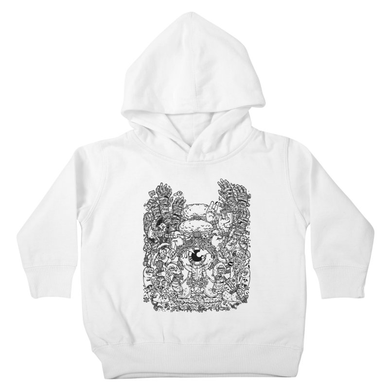 WAKING UP IS HARD TO DO Kids Toddler Pullover Hoody by Adam White's Shop