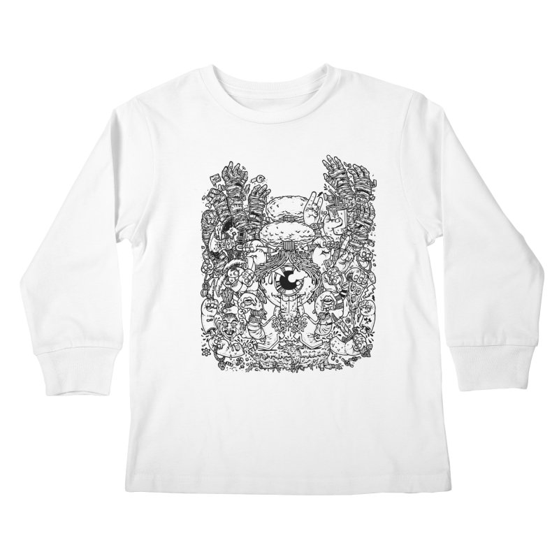 WAKING UP IS HARD TO DO Kids Longsleeve T-Shirt by Adam White's Shop