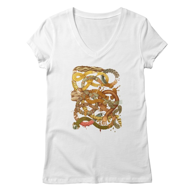 GRAPHITE FOR YOUR LIFE Women's V-Neck by Adam White's Shop