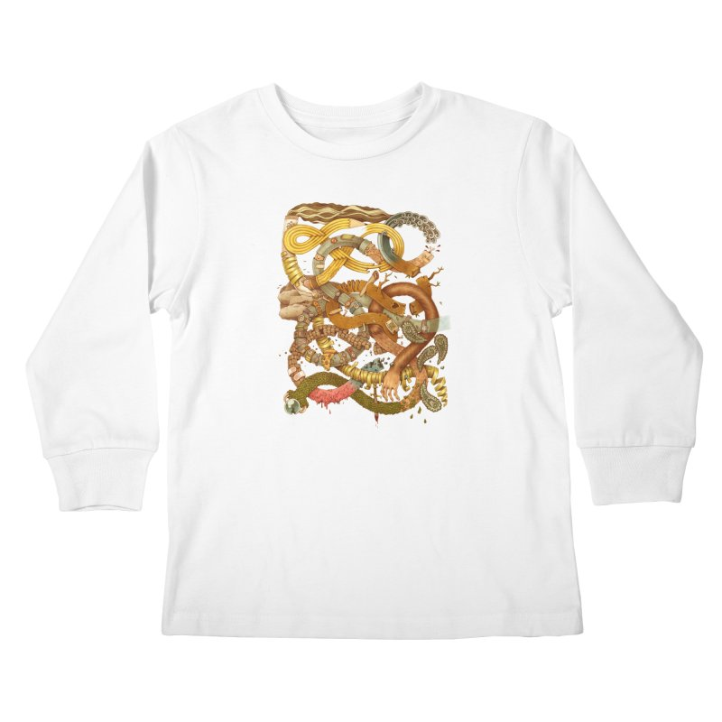 GRAPHITE FOR YOUR LIFE Kids Longsleeve T-Shirt by Adam White's Shop