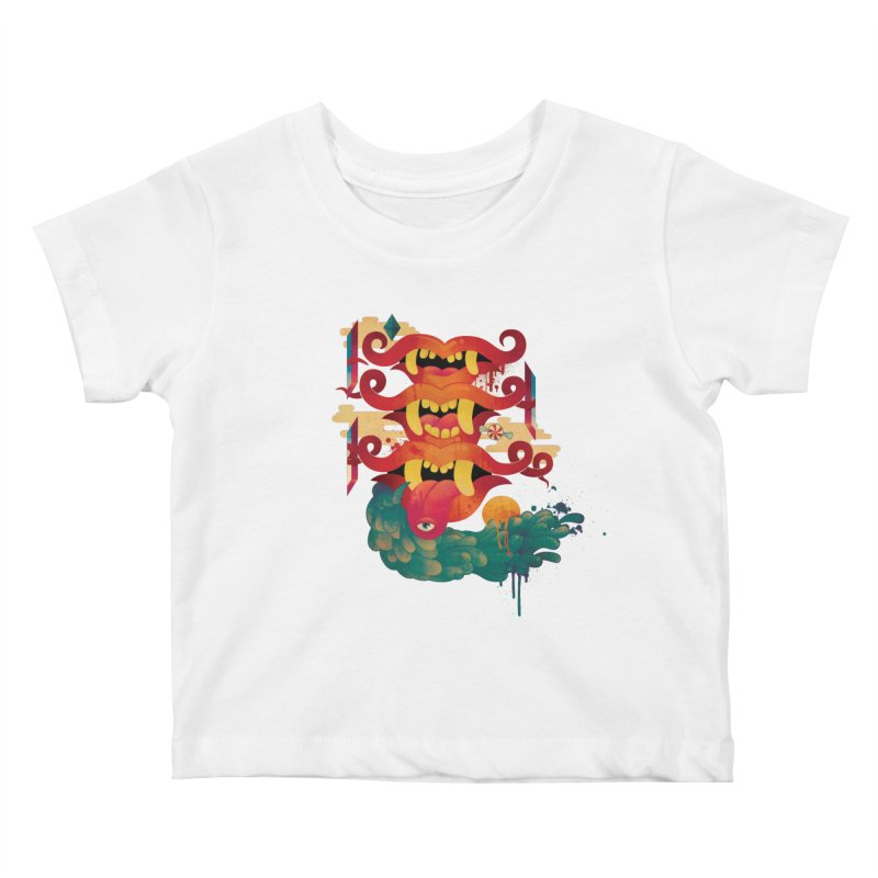 MELLOW YELLOW Kids Baby T-Shirt by Adam White's Shop