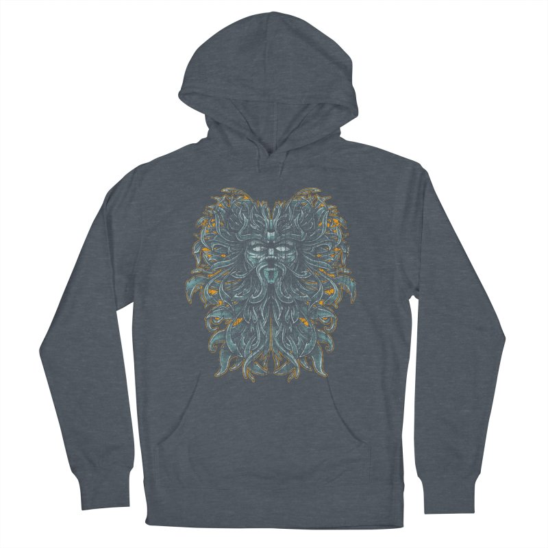 SUN LION Women's French Terry Pullover Hoody by Adam White's Shop