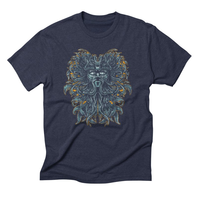 SUN LION Men's Triblend T-Shirt by Adam White's Shop