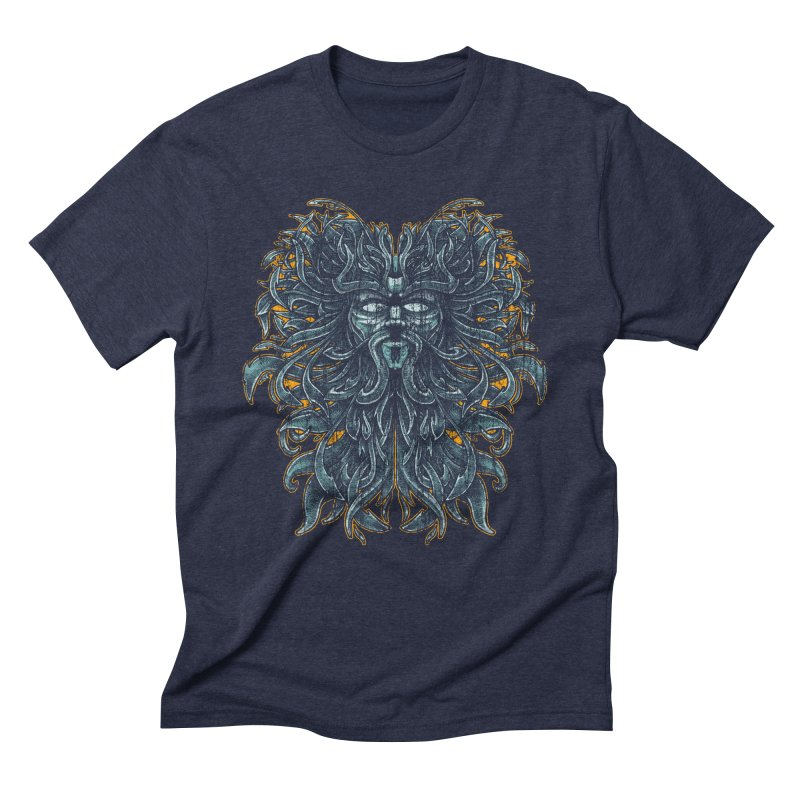 SUN LION Men's Triblend T-shirt by Adam White's Shop