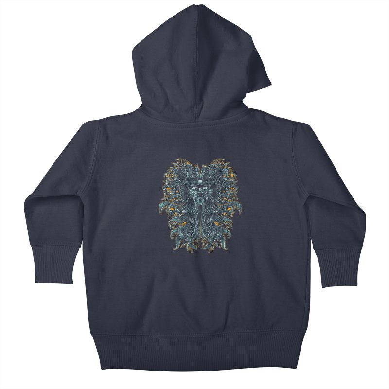 SUN LION Kids Baby Zip-Up Hoody by Adam White's Shop