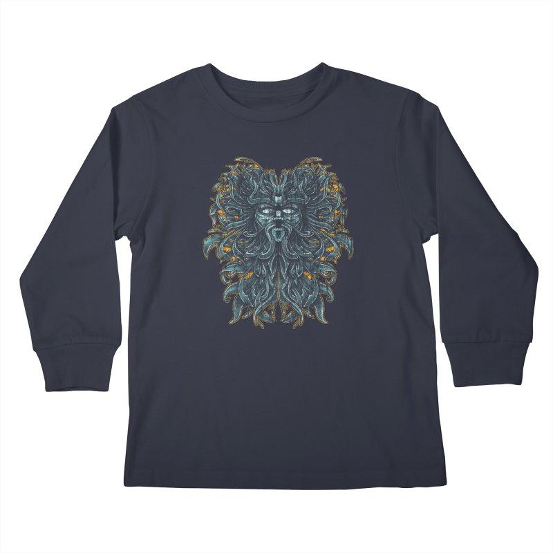SUN LION Kids Longsleeve T-Shirt by Adam White's Shop