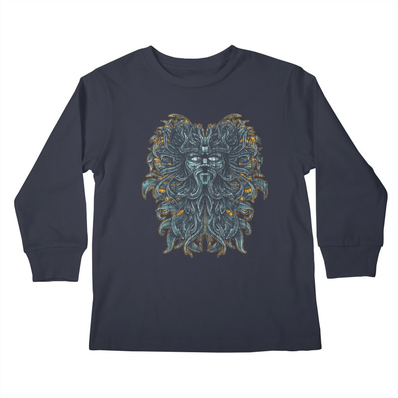 SUN LION Kids Longsleeve T-Shirt by Adam White's Shop