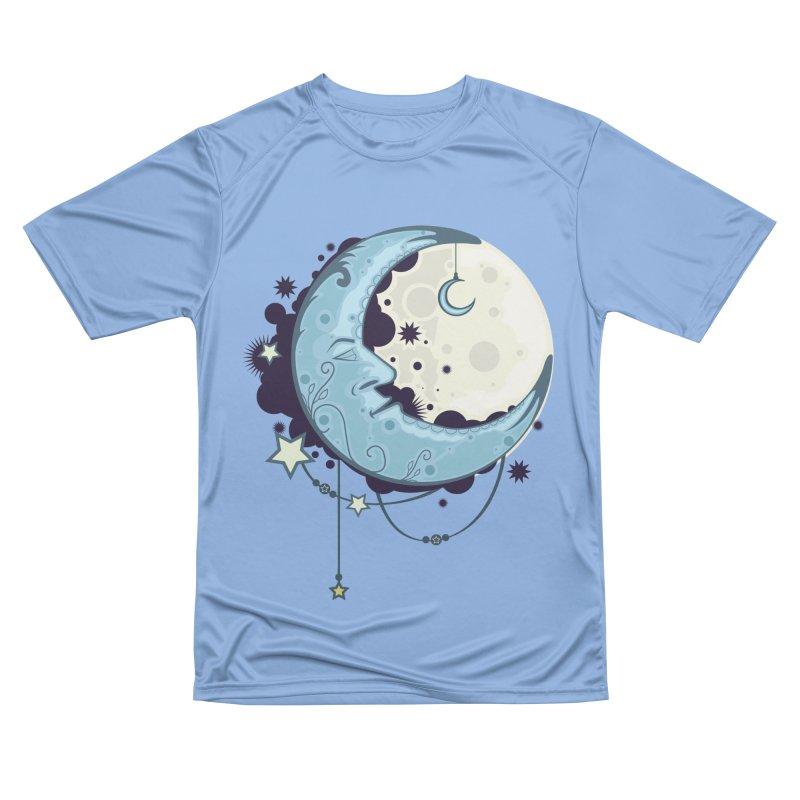 Blue Moon Women's T-Shirt by adamzworld's Artist Shop