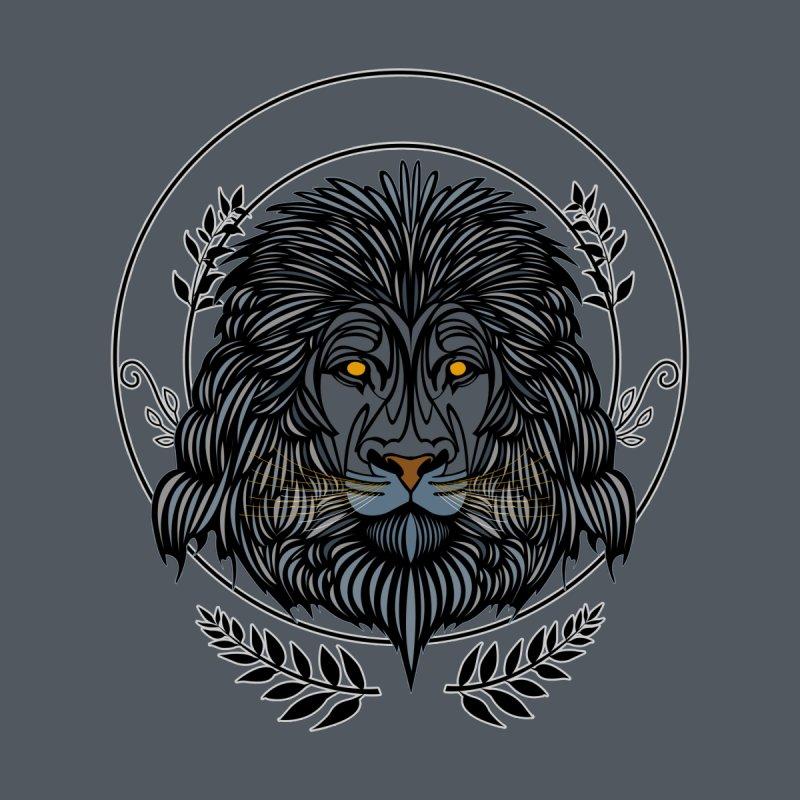 Lion Head Men's T-Shirt by adamzworld's Artist Shop