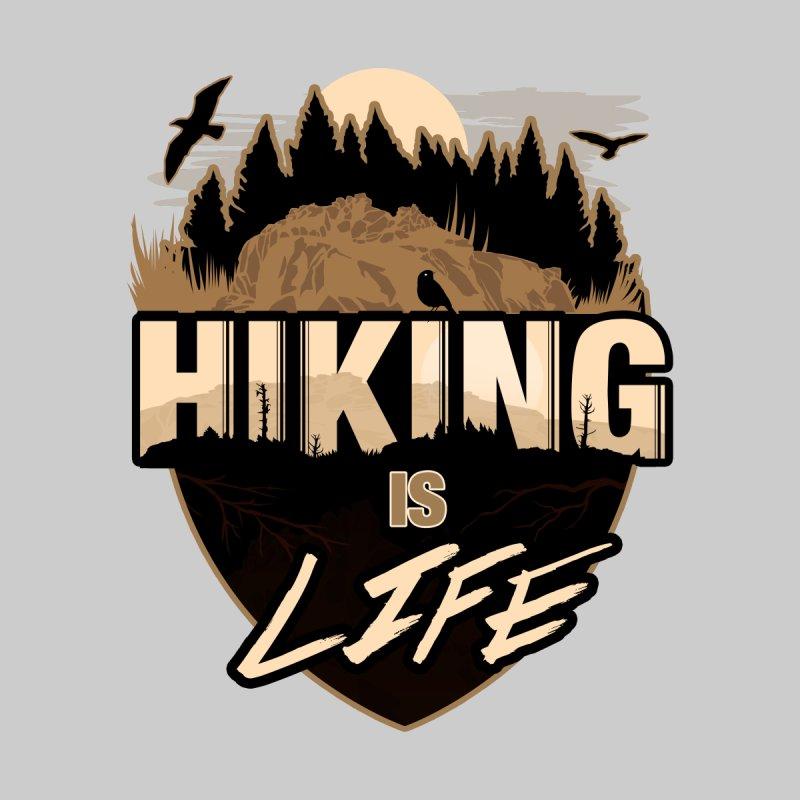 Hiking Is Life Women's V-Neck by adamzworld's Artist Shop