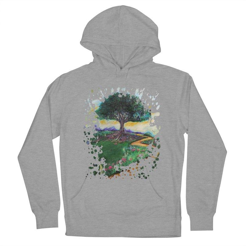 Tree Of Imagination Men's Pullover Hoody by adamzworld's Artist Shop