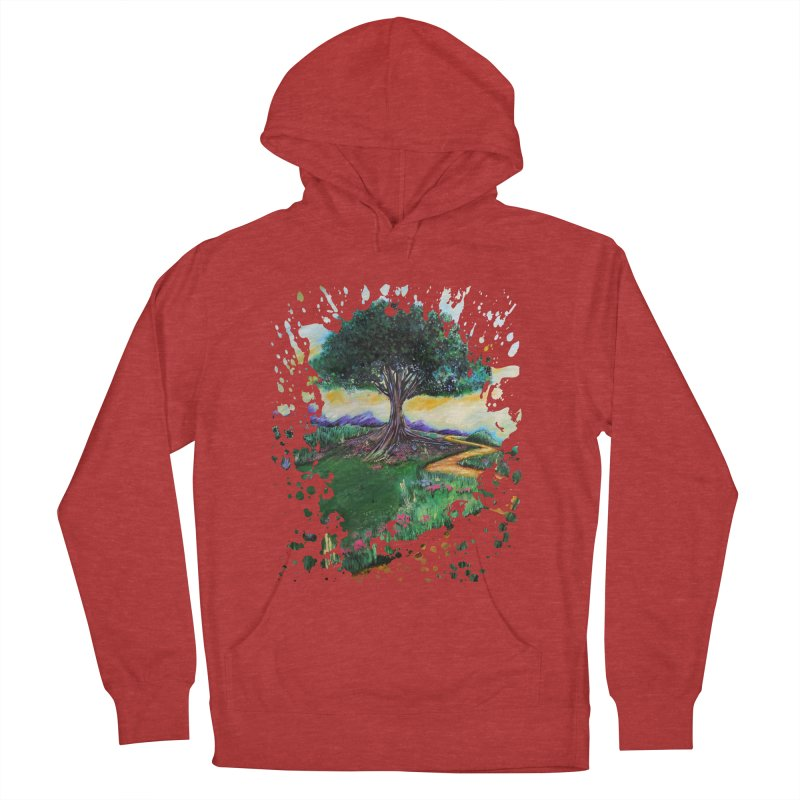 Tree Of Imagination Men's Pullover Hoody by adamzworld's Artist Shop