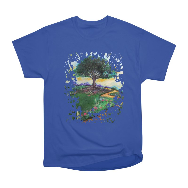 Tree Of Imagination Men's Classic T-Shirt by adamzworld's Artist Shop