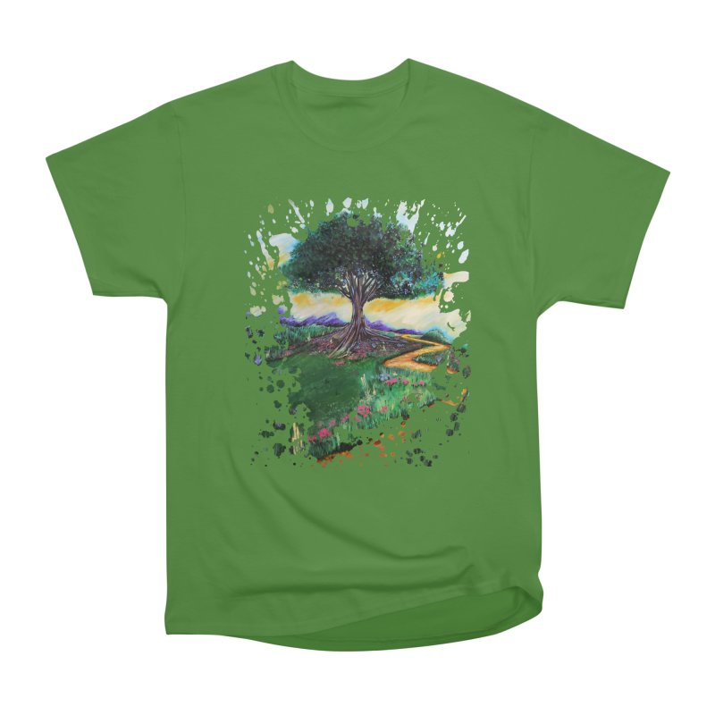 Tree Of Imagination Women's Classic Unisex T-Shirt by adamzworld's Artist Shop