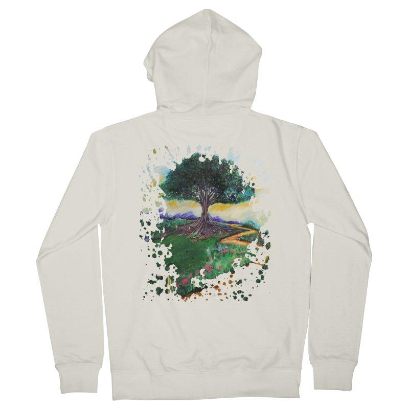 Tree Of Imagination Men's Zip-Up Hoody by adamzworld's Artist Shop