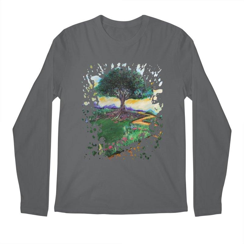 Tree Of Imagination Men's Longsleeve T-Shirt by adamzworld's Artist Shop