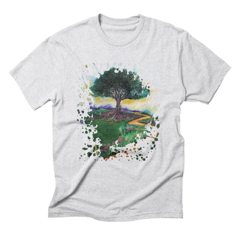 Tree Of Imagination Men's Triblend T-shirt by adamzworld's Artist Shop