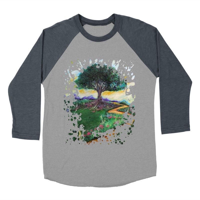 Tree Of Imagination Women's Baseball Triblend T-Shirt by adamzworld's Artist Shop