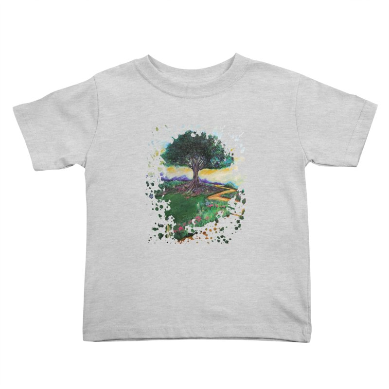 Tree Of Imagination Kids Toddler T-Shirt by adamzworld's Artist Shop