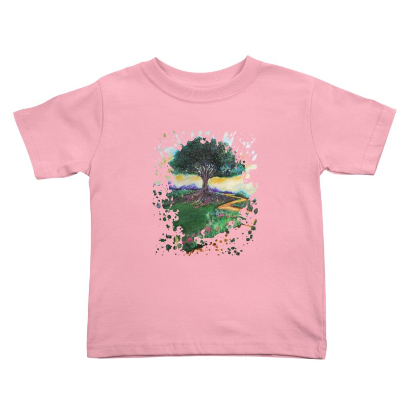 Tree Of Imagination Kids Toddler T-Shirt by adamzworld's Artist Shop
