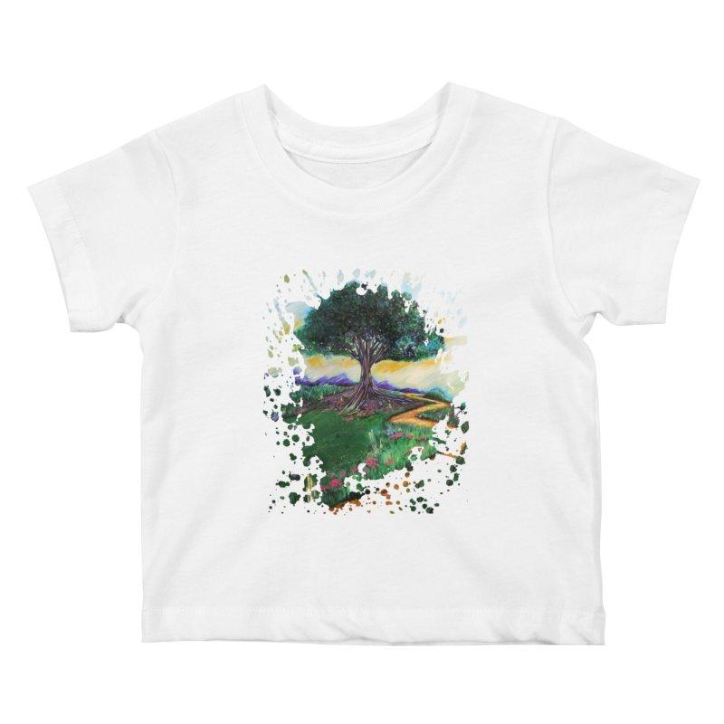 Tree Of Imagination Kids Baby T-Shirt by adamzworld's Artist Shop