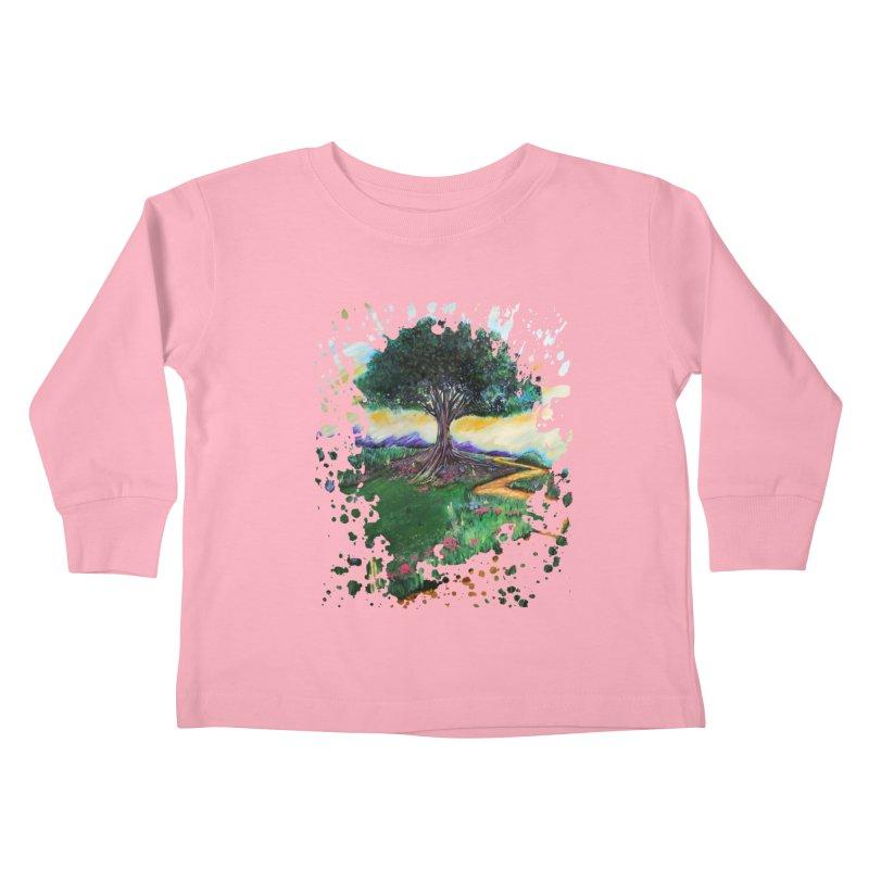 Tree Of Imagination Kids Toddler Longsleeve T-Shirt by adamzworld's Artist Shop