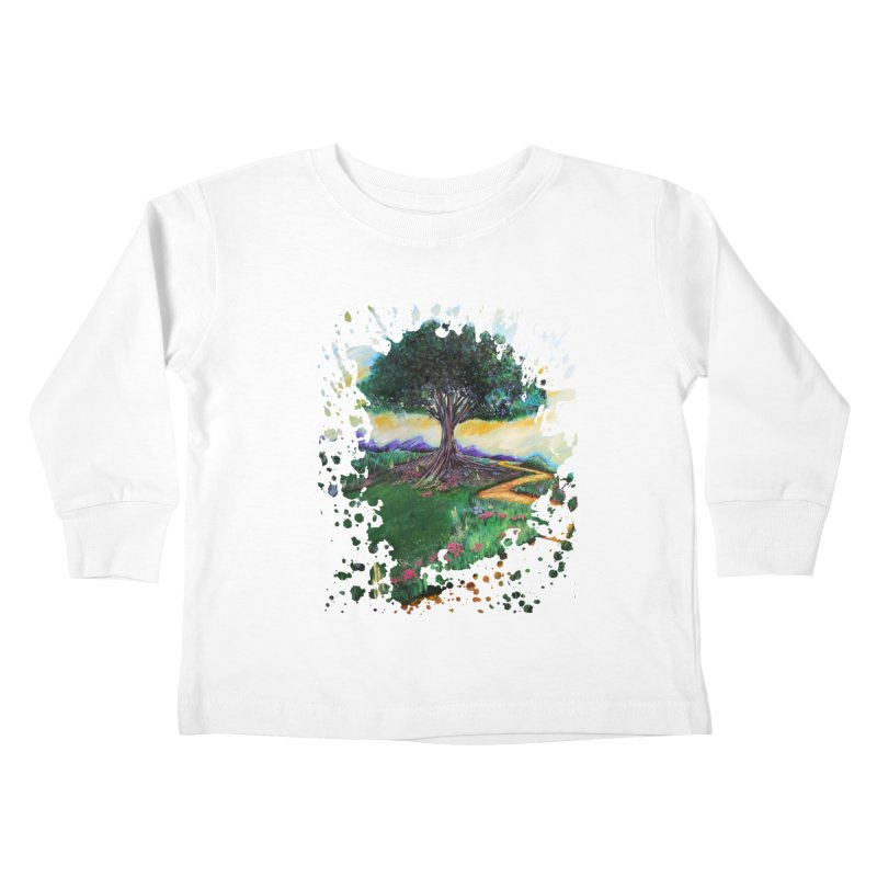 Tree Of Imagination Kids Toddler Longsleeve T-Shirt by adamzworld's Artist Shop