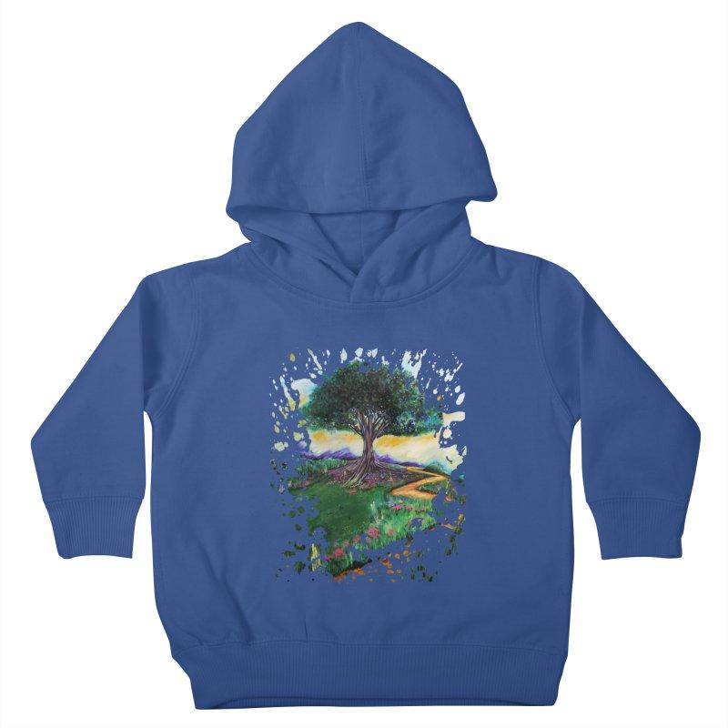 Tree Of Imagination Kids Toddler Pullover Hoody by adamzworld's Artist Shop