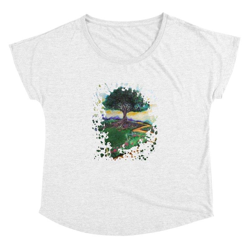 Tree Of Imagination Women's Dolman by adamzworld's Artist Shop