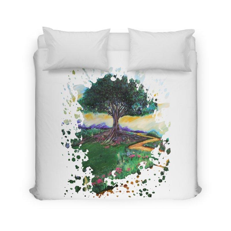 Tree Of Imagination Home Duvet by adamzworld's Artist Shop