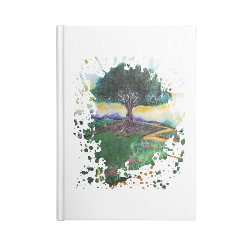 Tree Of Imagination Accessories Notebook by adamzworld's Artist Shop