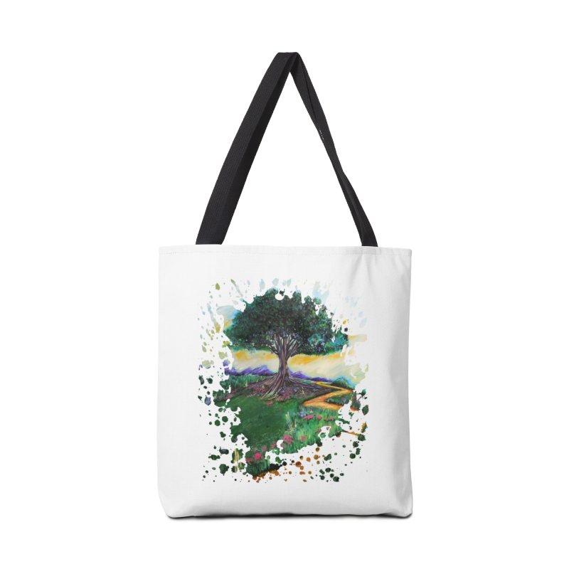 Tree Of Imagination Accessories Bag by adamzworld's Artist Shop