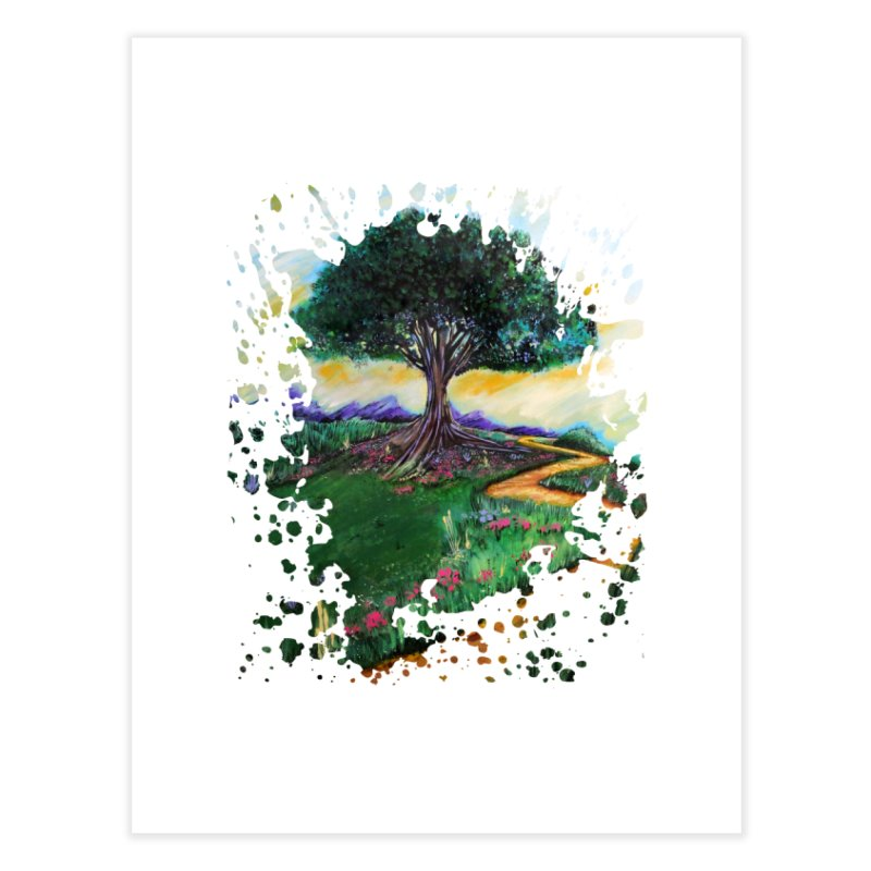 Tree Of Imagination Home Fine Art Print by adamzworld's Artist Shop