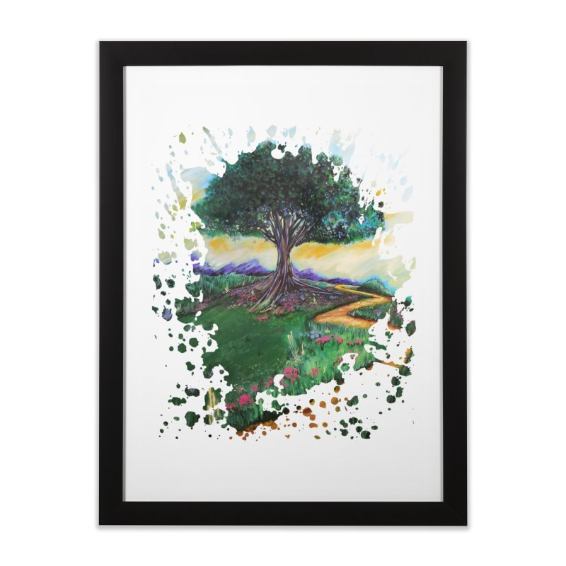 Tree Of Imagination Home Framed Fine Art Print by adamzworld's Artist Shop