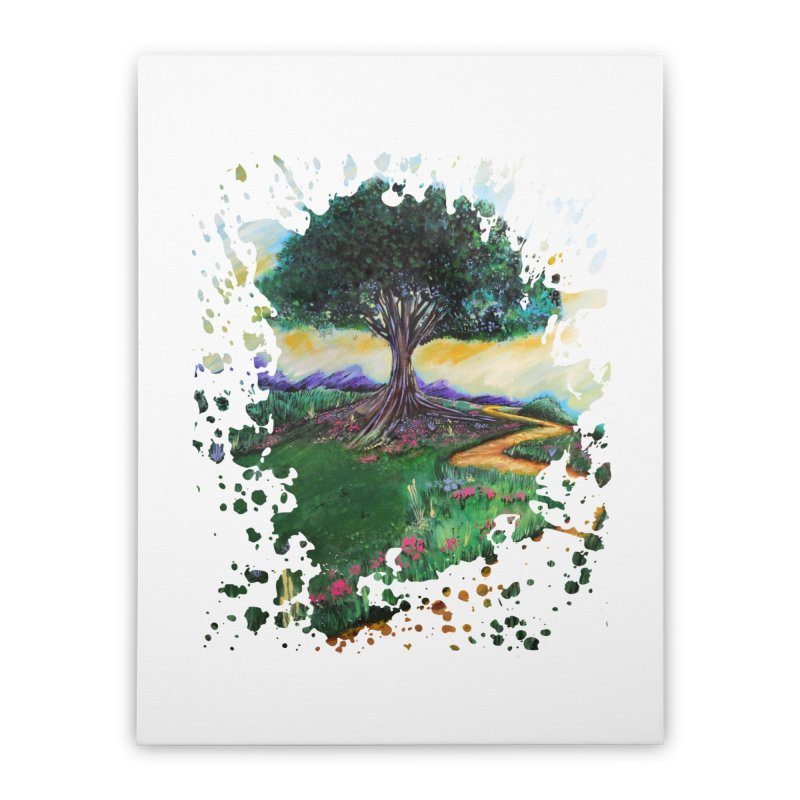 Tree Of Imagination Home Stretched Canvas by adamzworld's Artist Shop