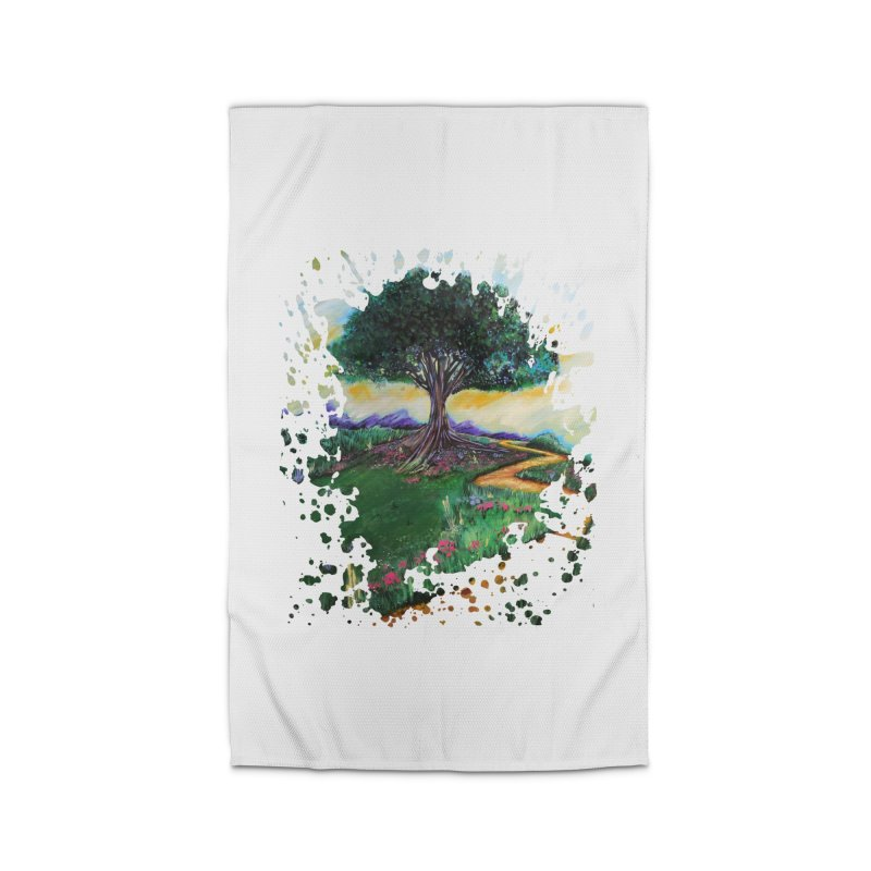 Tree Of Imagination Home Rug by adamzworld's Artist Shop