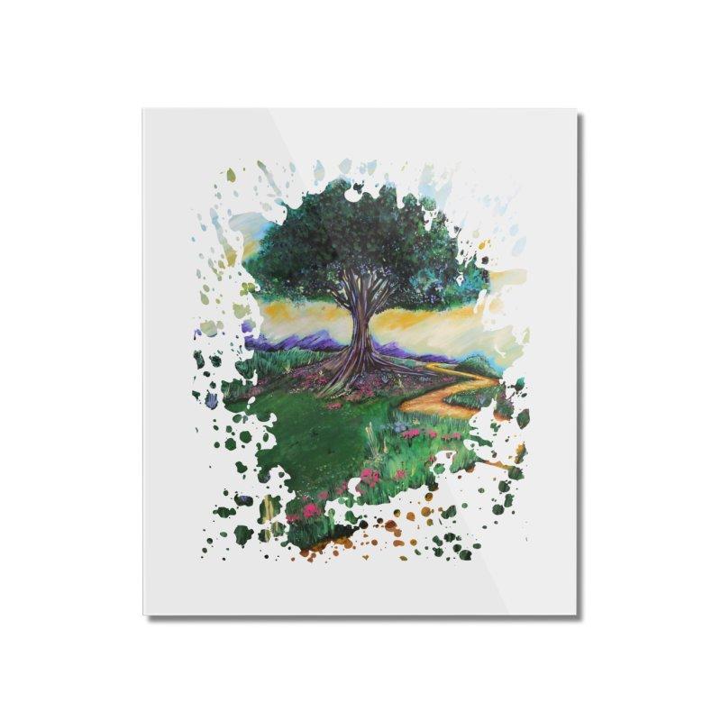 Tree Of Imagination Home Mounted Acrylic Print by adamzworld's Artist Shop