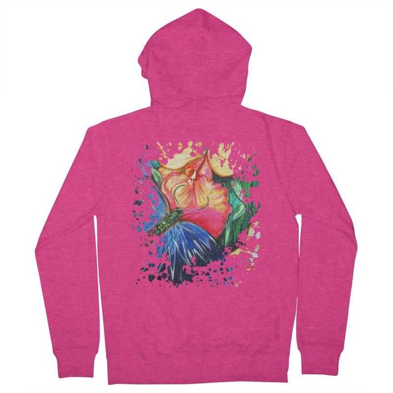 Butterfly Life Women's Zip-Up Hoody by adamzworld's Artist Shop