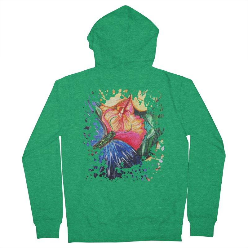 Butterfly Life Men's Zip-Up Hoody by adamzworld's Artist Shop