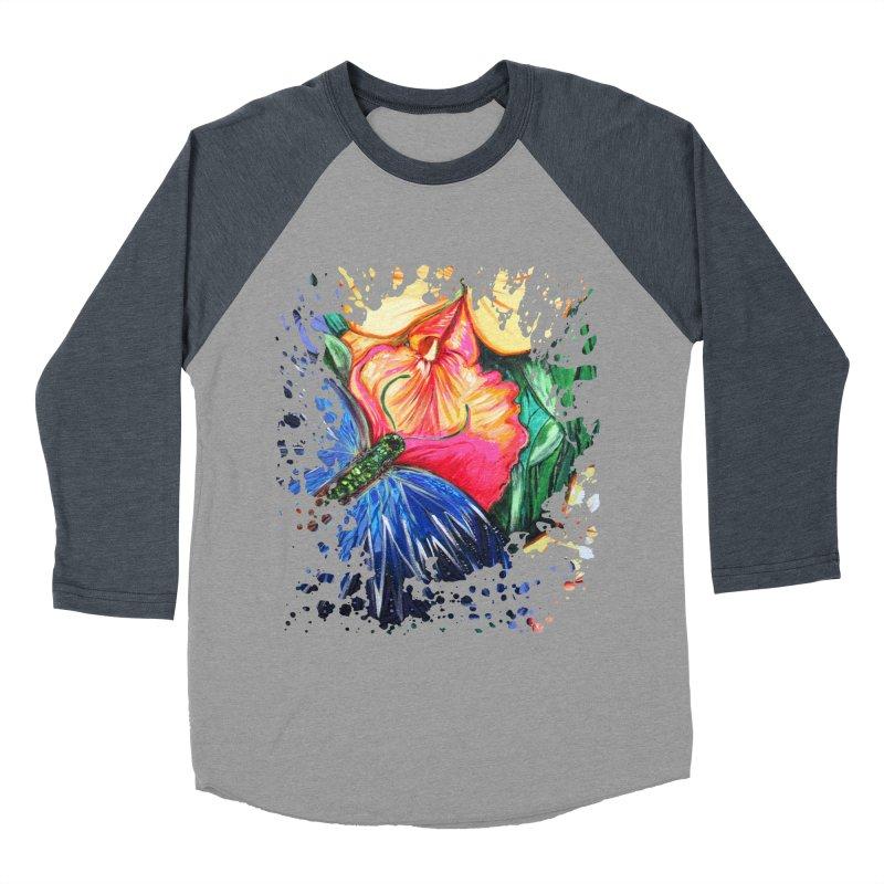 Butterfly Life Women's Baseball Triblend T-Shirt by adamzworld's Artist Shop